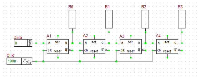 Magnificent Basic Tutorial Lesson 10 Building A Shift Register Using D Flip Wiring Digital Resources Otenewoestevosnl