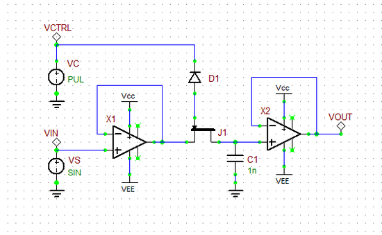 mixed signal tutorial lesson 4 designing sample and hold Sample and Hold Circuit NS Sample and Hold Circuit NS