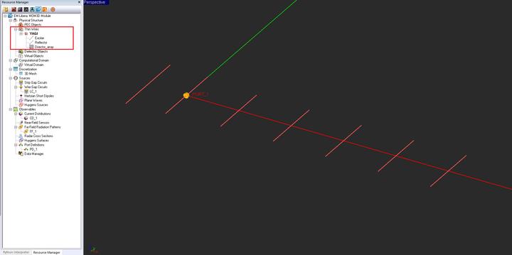 EM Libera Tutorial Lesson 2: Designing A Yagi-Uda Dipole
